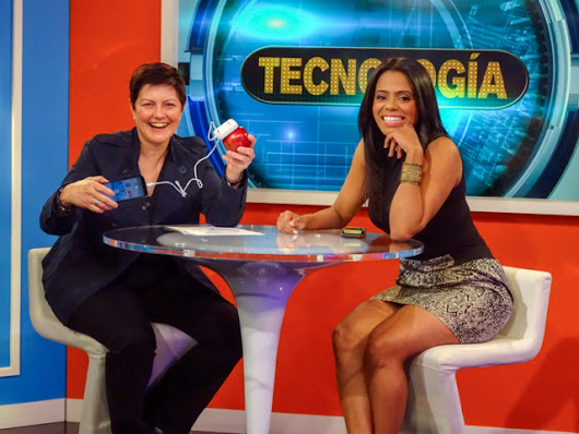 On Telemundo with Tips to Save Battery Life of Phone Rosa Alonso Digital