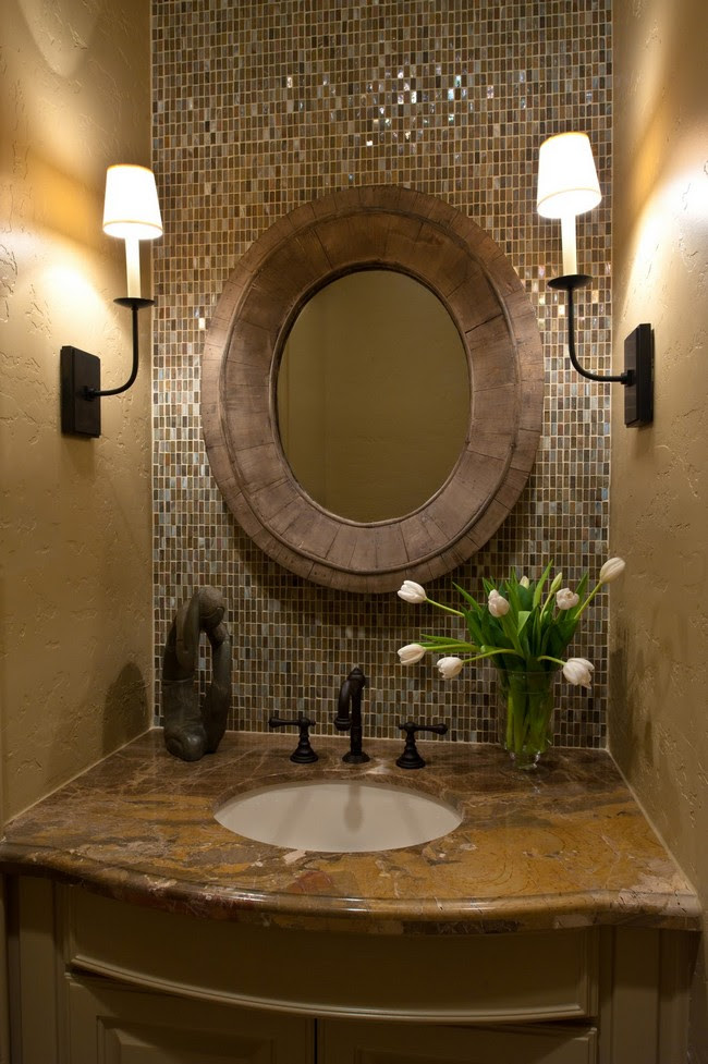 Mirror Tile Wall Designs