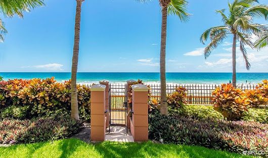 Oceanfront Villa 5 at The Palms, Luxury Oceanfront Condominiums Fort Lauderdale, Florida 33305