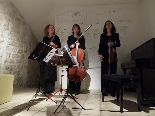 le trio ingres à la galerie hus