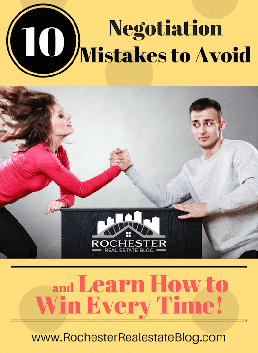 Top 10 Negotiation Mistakes To Avoid In Real Estate