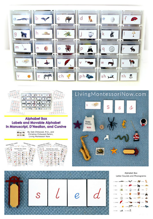 DIY Alphabet Box Multi-Level Printables and Resources {Montessori Monday} - Living Montessori Now
