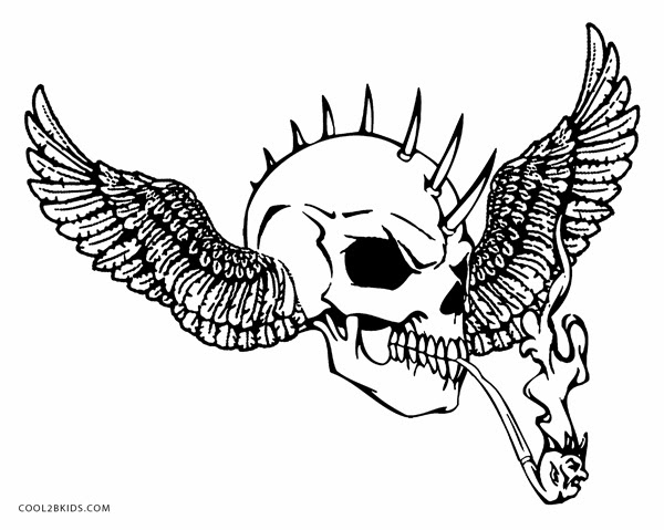 - Printable Skulls Coloring Pages For Kids Cool2bKids - Coloring Pages