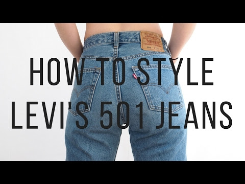 Three Ways To Wear Levi's 501 Jeans