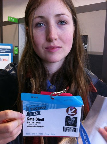 Kate Sheil. Actor in Jeffrey Tambor Acting Workshop #sxsw 2012