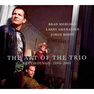 Brad Mehldau  -The Art Of Trio Recordings: 1996 - 2001 (Box Set)  cover