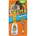 Gorilla 7500102 Super Glue Brush and Nozzle, 10 Gram