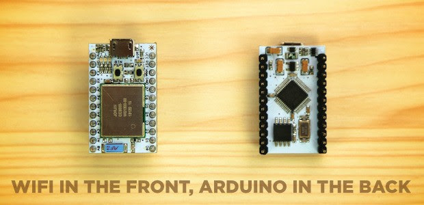 Spark Core Arduino board adds WiFi to everything, takes input from anywhere video
