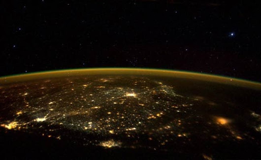 Astronaut Tweets Stunning Pic of South India From Space