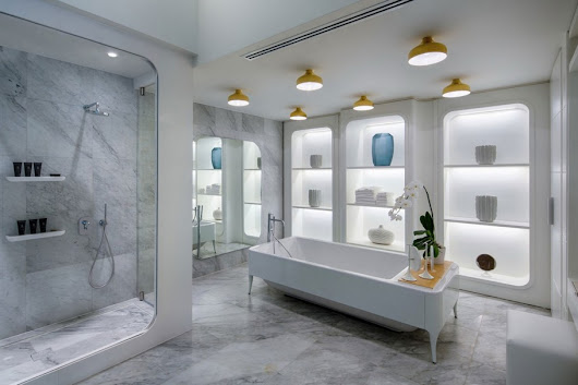 15 Inspirational Spaces and the Bathroom Design Ideas That Made Them - Adelto