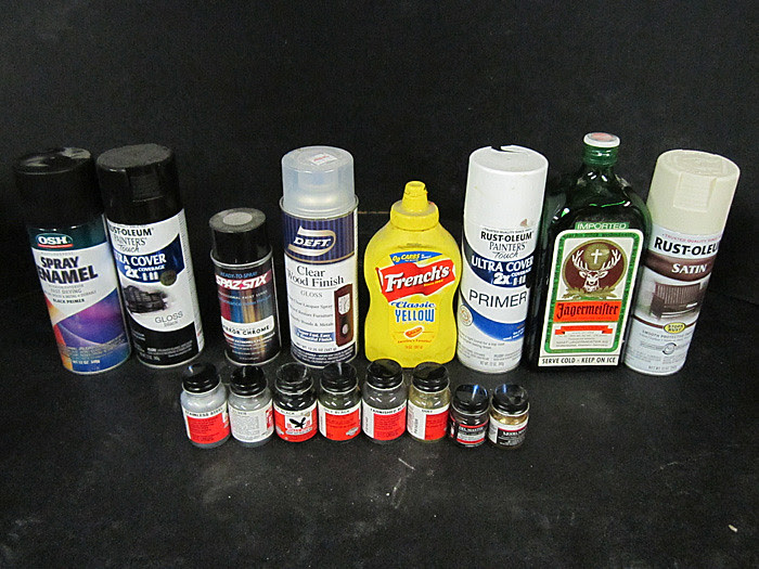 16-part Paintjob Necessities