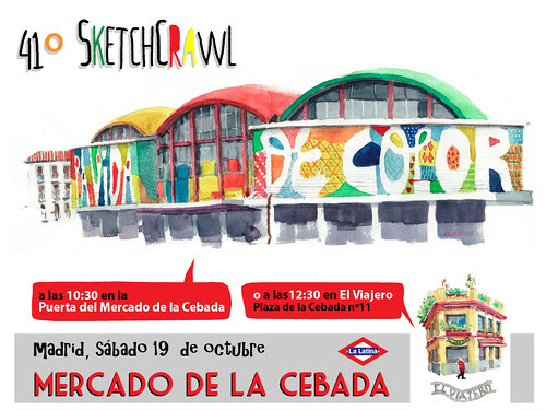 41º SketchCrawl, Madrid