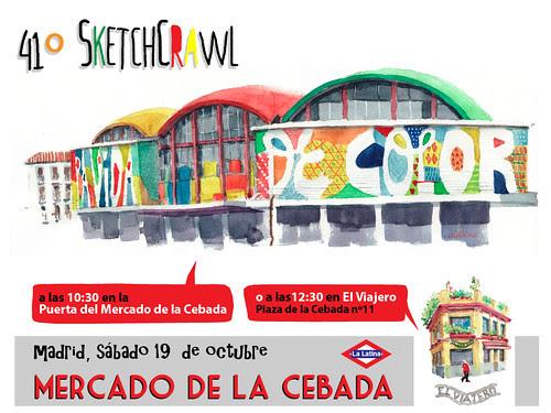 41º SketchCrawl, Madrid