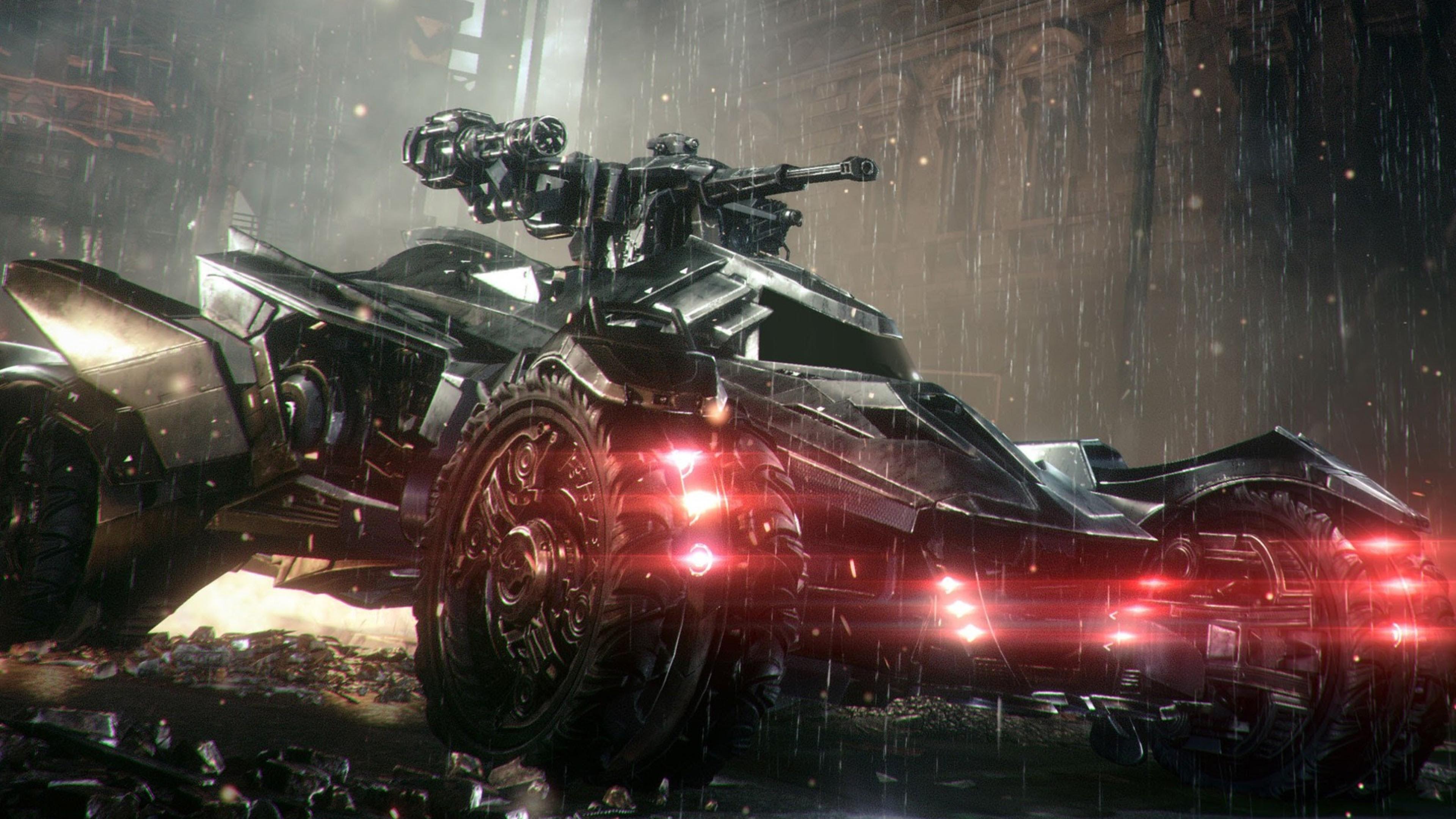 1440x900 Batmobile In Arkham Knight 1440x900 Resolution Hd 4k
