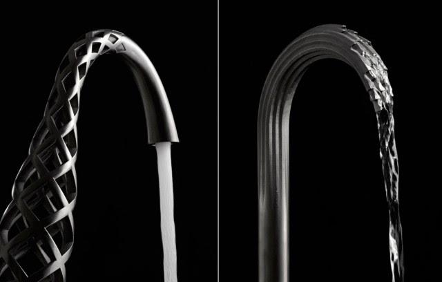 Keran air berbentuk tidak biasa hasil printer 3D !