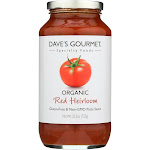 Dave's Gourmet - Organic Red Heirloom Pasta Sauce - 25.5 FL oz.