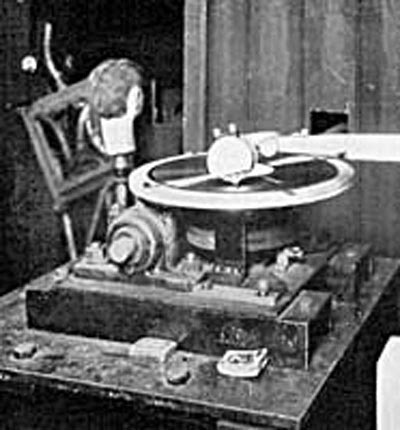 Baird Phonovision Apparatus