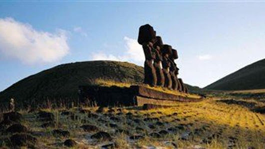 Part of Easter Island mystery solved