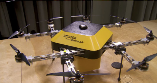 Delivery drones are coming: Jeff Bezos previews half-hour shipping from Amazon