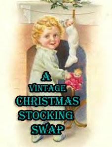 Vintage Christmas Stocking Swap