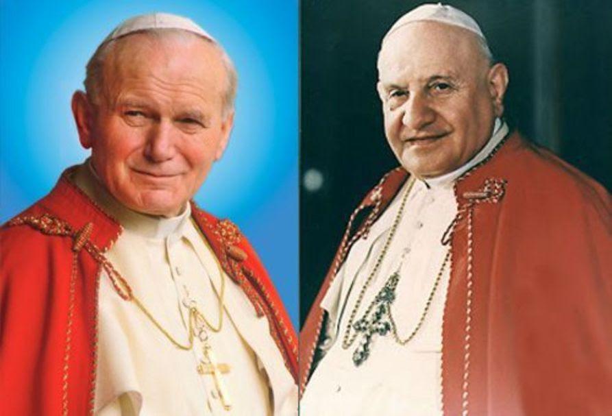 JUAN PABLO II Y JUAN XXIII