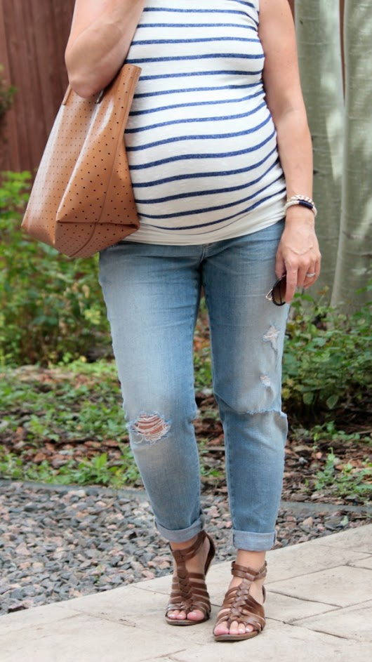 Stripes and Denim - style this life