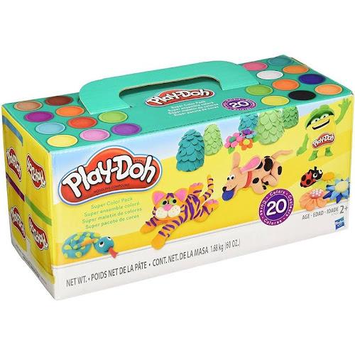 Play-Doh Super Color Modeling Dough - 60 oz box