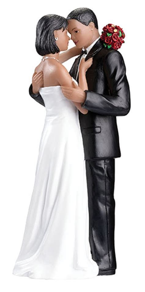 wedding cake toppers: Wedding Cake Toppers African American