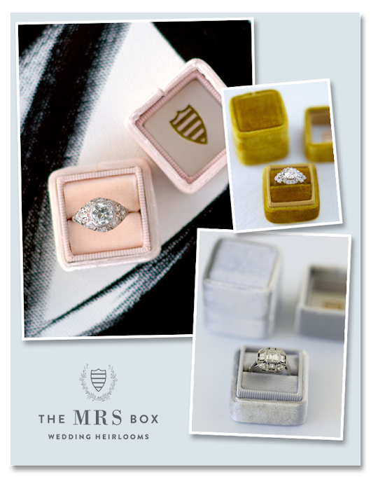 The Mrs. Box | An Heirloom Quality Ring Box