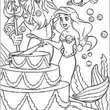 Coloriage La Petite Sirene Coloriages Gratuits à Imprimer Sur