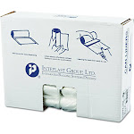 Inteplast Group High-Density Can Liner 30 x 37 30gal 10mic Clear 25/Roll 20