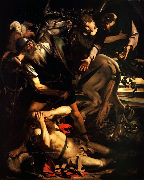 File:The Conversion of Saint Paul-Caravaggio (c. 1600-1).jpg