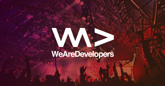Win the very first 2 tickets to WeAreDevelopers World Congress 2018!