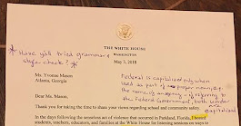 'OMG This Is Wrong!' Retired English Teacher Marks Up a White House Letter and Sends It Back - The New York Times