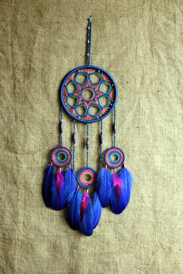 DIY Beautiful and Unique Dream Catcher Ideas (36)