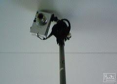camera on pole :: kamera på stav