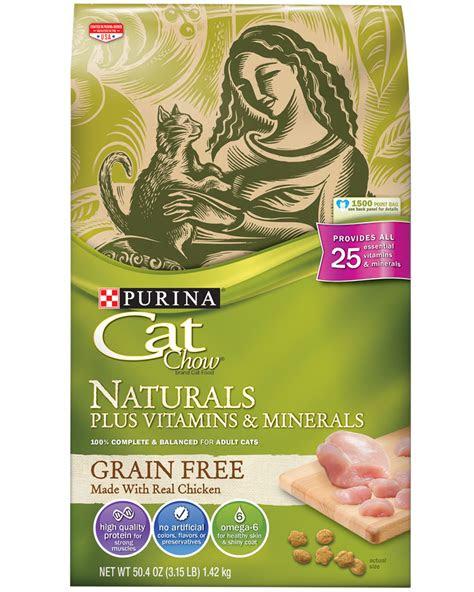 cat chow naturals grain  cat food purina