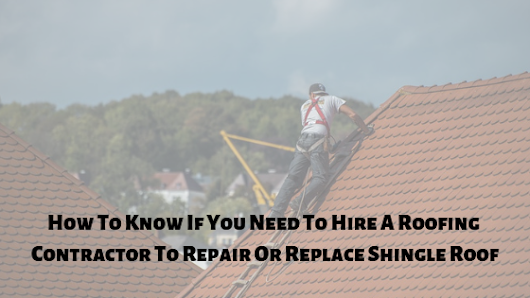 Before choosing the right contractor to take care of your damaged roof caused...
