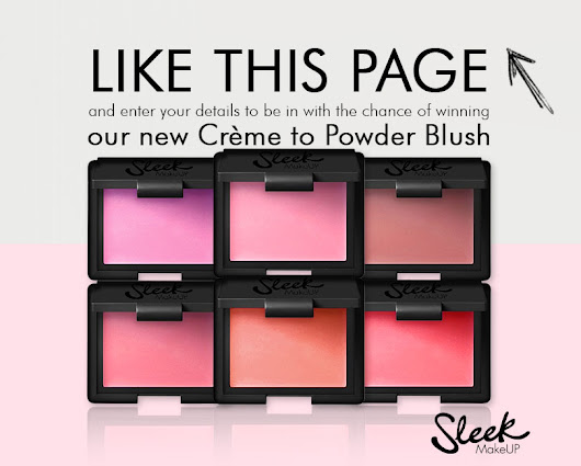 Giveaway - Be 1 of 5 to win our new Creme to Powder Blush