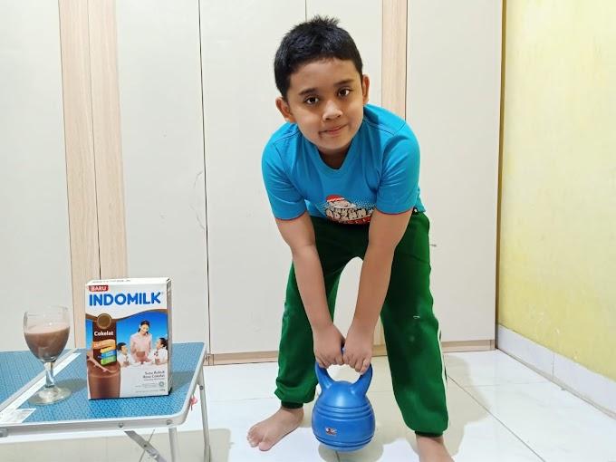 Indomilk Susu Bubuk Penuhi Nutrisi Anak Aktif Bergerak
