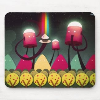 Ordinary day Cup Cake Remix mousepad