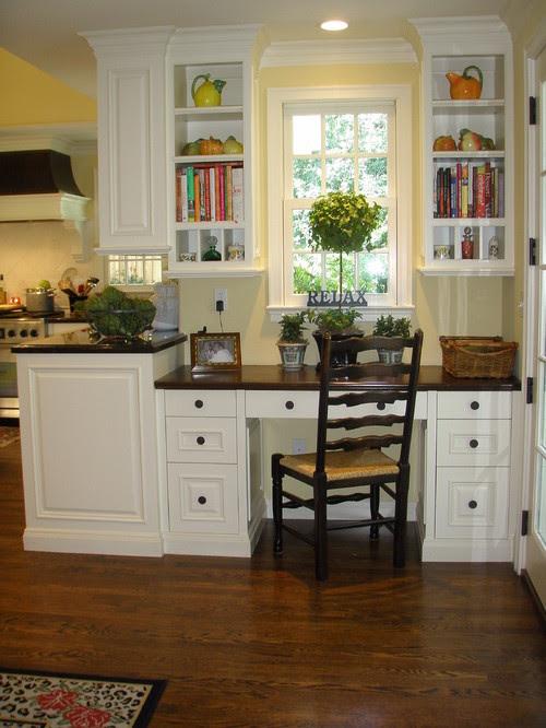 Kathleen Burke Design traditional home office
