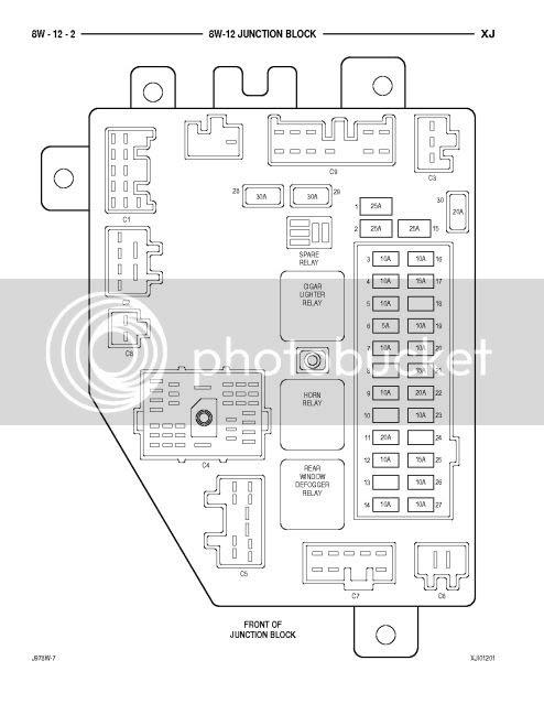 2010 Jeep Commander Fuse Box Diagram