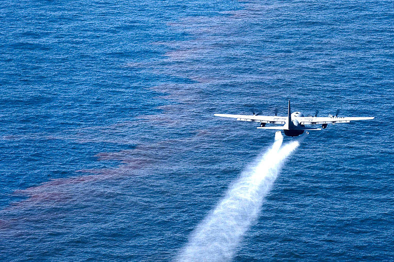 File:C-130 support oil spill cleanup.jpg