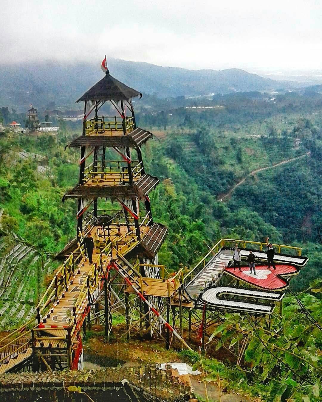 Lokasi, Rute dan Harga Tiket Masuk Punthuk Setumbu Magelang