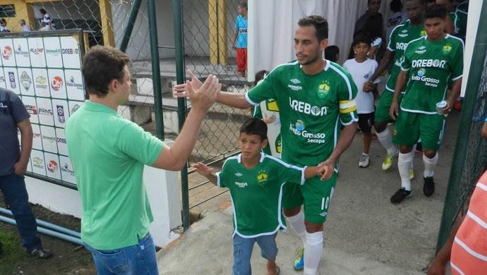 Fernando meia do Cuiabá (Foto: Assessoria/Cuiabá Esporte Clube)