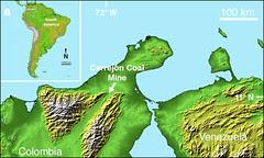 Cerrejón Formation- Colombia (NASA-JPL)