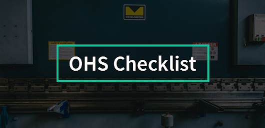 Your free OH&S checklist