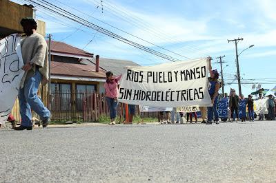 Marcha Puelo en Valdivia 6