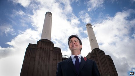 Alan Miliband at Battersea power station